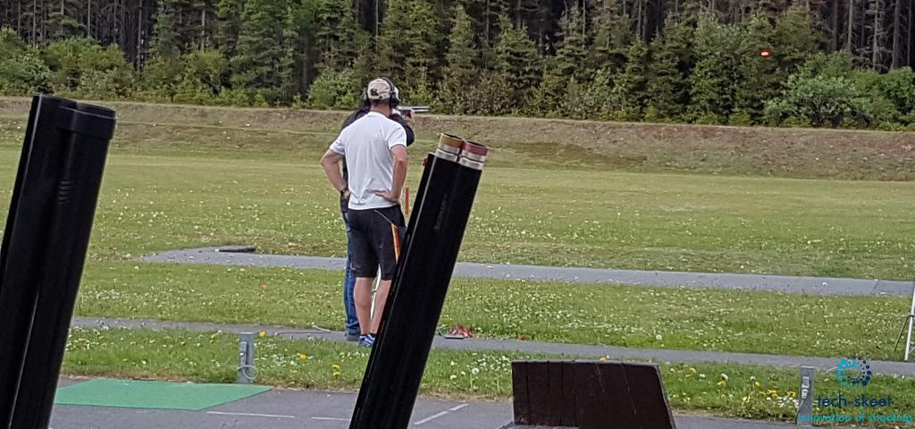 Skeet-Training in Suhl